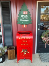 Letter for Santa, Christmas Tree farm, Cutchogue, New York