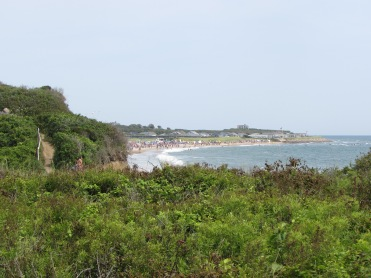 View of the ocean beach, Ditch Plains, Montauk, New York