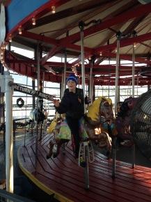 "Carousel ""jousting"""