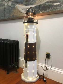 Montauk lighthouse replica floor lamp