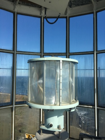 The new light in Montauk Lighthouse, New York
