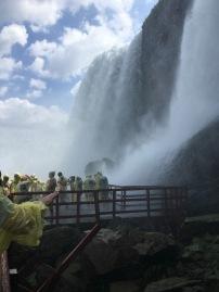 Looking at the Hurricane Deck at Bridal Veils, Niagara State Park