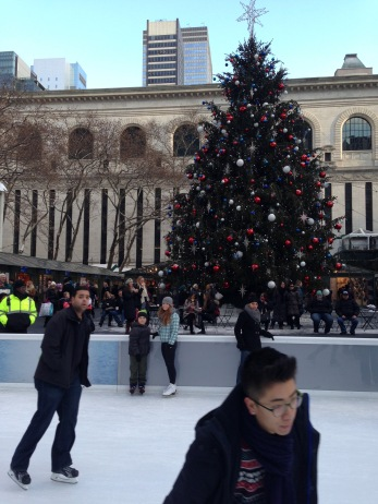 Ice Rink at Bryant Park