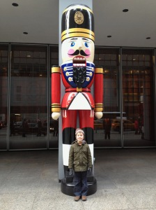Nutcracker in midtown, 6th Ave