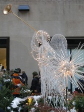 Angels in Channel Gardens at Rockefeller