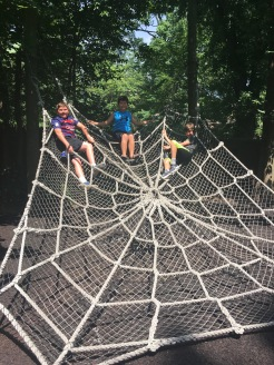 Children's Zoo Giant Rope Spider Web