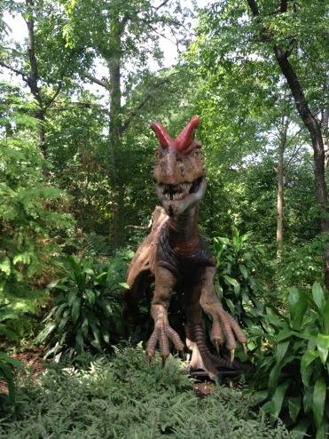 Previous Dinosaur Exhibit