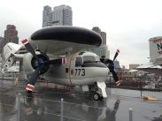 The E1B Tracer with massive radar system!