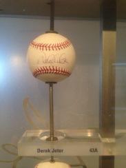"""Derek Jeter from the """"Ball Wall"""""""