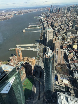 View from the North side windows- Hudson River