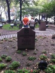 St. Paul's tombstone