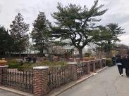 Perennial Garden next to Conservatory