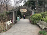 Entrance to the Children's Garden