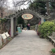Entrance to the Children's Garden