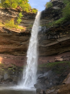 First tier of Kaaterskill Falls, Catskill Mountains, New York