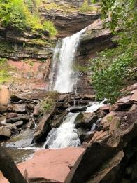 Lower waterfall at Kaaterskill Falls, Catskill Mountains, New York