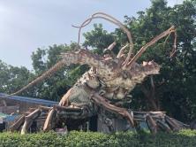 Big Betsy! giant lobster, Islamadora Key, Florida