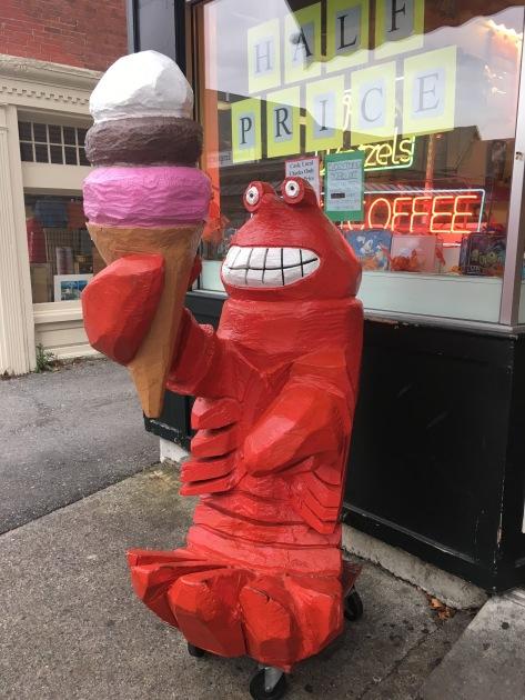 Ben and Bill's Chocolate Emporium Ice Cream Lobster, Bar Harbor, Maine