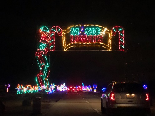 Holiday Magic of Lights at Jones Beach, NY