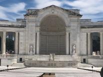 Marble memorial Ampitheater at Arlington National Cemetery, Virginia