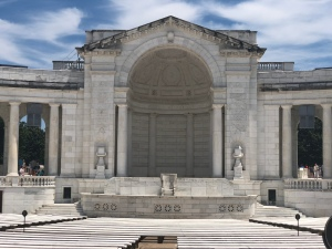 Marble memorial Ampitheater at Arlington National Cemetery, Virginia