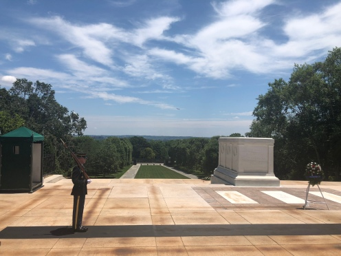 Guard at Tomb of the Unknown Soldier, Arlington National Cemetery