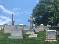Grouping of tombstones, Arlington National Cemetery