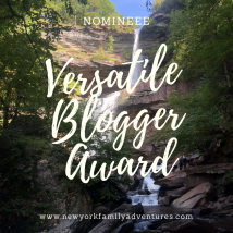 versatile blogger award new york family adventures