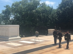 Changing of the Guard, Tomb of the Unknown Soldier, Arlington, VA