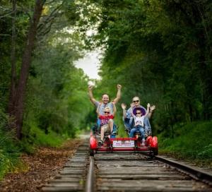 David Mielcarek, Blonnie Borrks, WAGS media, Rail Explorer, Catskills