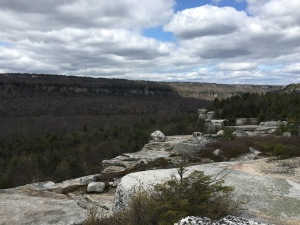 Overlook Gertrude's Nose Hike, Minnewaska Preserve, New York