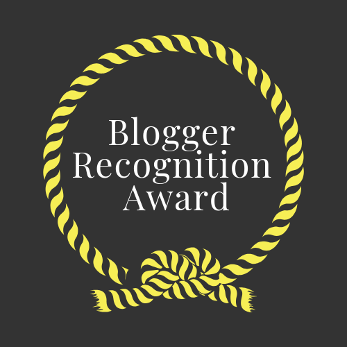 Blogger recognition award knot created by Emily Mae Hood