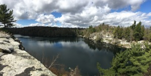Crystal Sky Lake, Minnewaska Preserve, New York