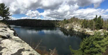 Crystal Sky Lake, Minnewaska Preserve, New York