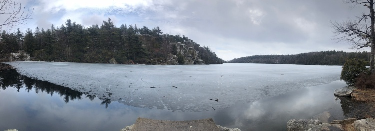 Panoramic Lake Minnewaska Preserve, New York