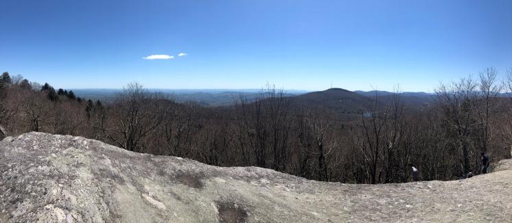 Panoramic Blue Ridge Mountains, Grandfather Mountain, North Carolina