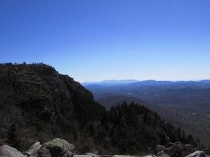 Overlook on Grandfather Mountain, Blue Ridge Mountains, North Carolina