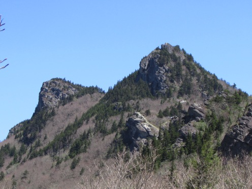 Rocky Forested Peaks at Grandfather Mountain, North Carolina