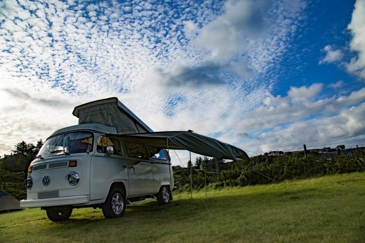 Classic Volkswagen Van, George Hodan