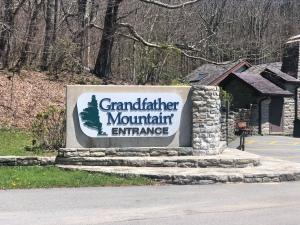 Entrance Sign, Grandfather Mountain, North Carolina
