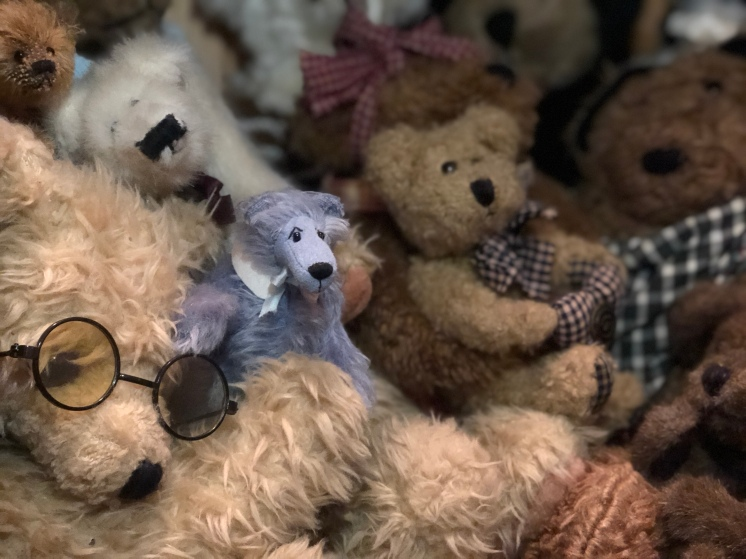 Personal collection of teddy bears