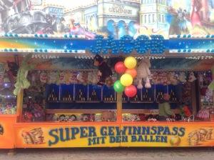 Carnival game at spring festival, Berlin, Germnay
