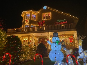 Christmas Lights of Dyker Heights, Baybridge, Brooklyn, New York