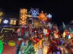 Christmas Lights of Dyker Heights, Baybridge, Brooklyn, New York