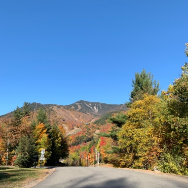 Entrance to Whiteface Mountain, Adirondacks, New York