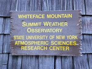 Summit Weather Observatory, Whiteface Mountain, New York