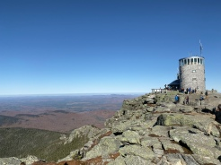 Summit of Whiteface Mountain, Adirondacks, New York