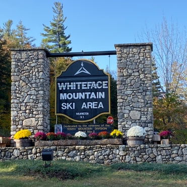 Whiteface Mountain Ski Area Sign, Wilmington, New York